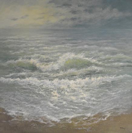 Onstuimige Noordzee