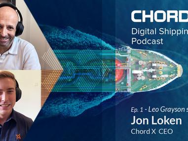 Ep.2 - Jon Loken CEO of Chord X joins Leo Grayson