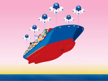 How are Ammonia (NH3) & the shipping industry a good match?