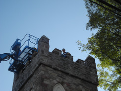 First Phase of Tower Restoration Completed