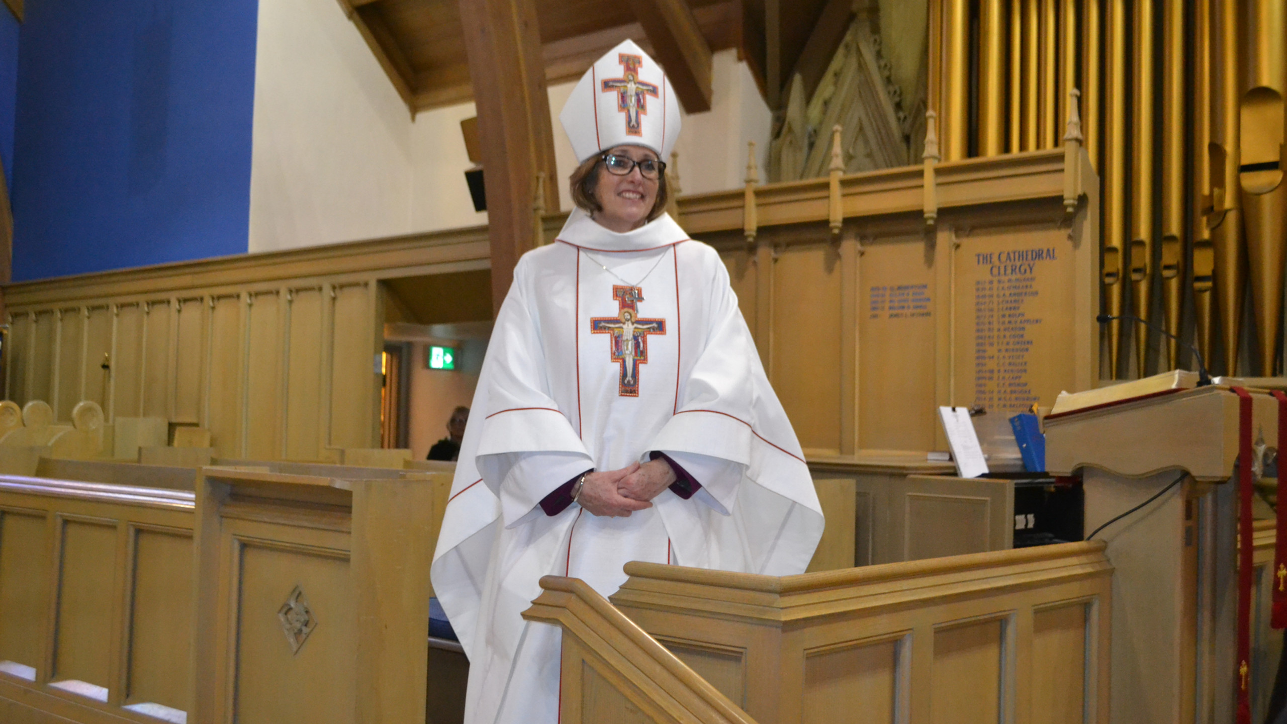Bishop Anne Germond