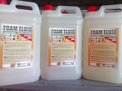 Жидкость для генератора пены,пенных пушек(foam fluid)