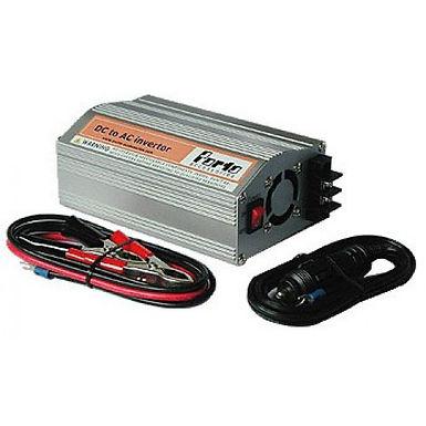 Автомобильный преобразователь напряжения Porto HT-E-350, DC (12V)/AC (220V), 350W