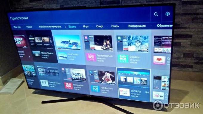 Телевизор для презентаций 55дюймов (140 см) Samsung UEj6200au