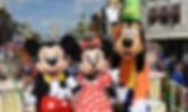Mickey-Minnie-and-Pluto-in-Disney-World-
