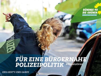 Zu Besuch bei der Polizei in der Storkower Straße & Eberswalder Straße
