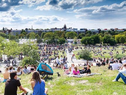 25 Jahre Mauerpark - Fotoausstellung im Kiezbüro