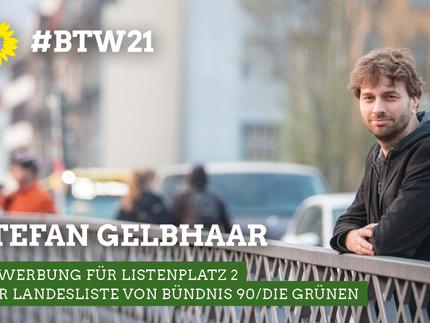 Bundestagswahl: Bewerbung für Listenplatz 2 der Landesliste von Bündnis 90/Die Grünen