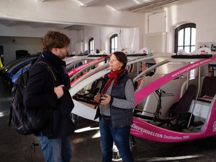 Besuch bei Pankower Mobilitätsunternehmen und Mitgliederversammlung KV Pankow