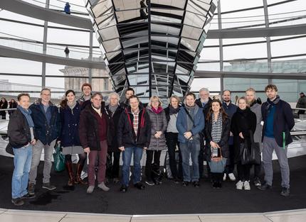 Gruppe aus dem Wahlkreis zu Besuch im Bundestag