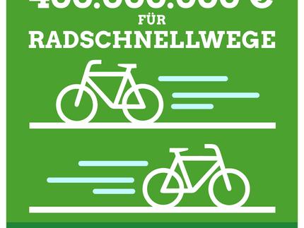 Grüner Haushalt für Radverkehr - vergleichende Übersicht mit Entwurf der GroKo