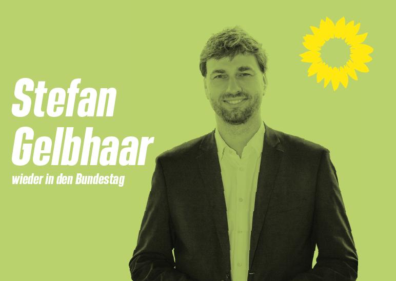 Stefan Gelbhaar - wieder in den Bundestag
