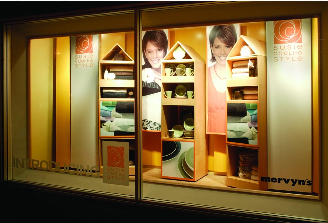 Mervyn's Store Window