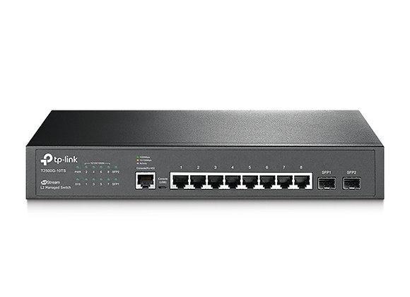 Switch Gerenciável L2 Gigabit com 8 Portas + 2 Slots SFP Jetstream