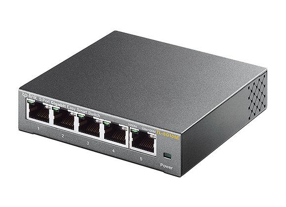 Switch Easy Smart Gigabit de 5 Portas
