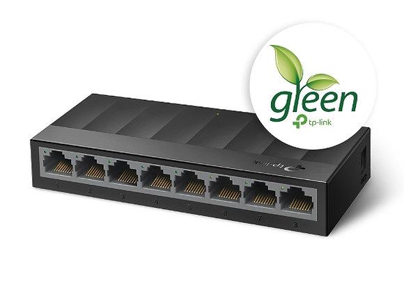 Switch Gigabit de Mesa com 8 portas
