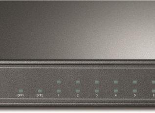 Switch Smart Gigabit PoE de 8 Portas com 2 Slots SFP Jetstream