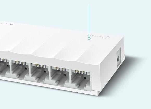 Switch de Mesa com 8 portas 10/100Mbps