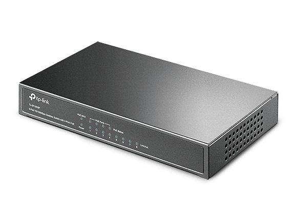 Switch de Mesa Fast Ethernet com 8 Portas (4 Portas PoE)