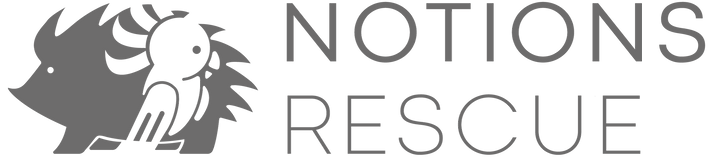 Notions Rescue Logo