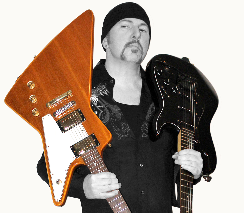 "Guitarslinger  as ""The Edge"""