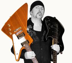 """Guitarslinger  as """"The Edge"""""""