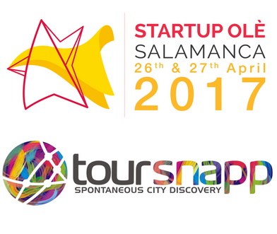 TourSnapp will exhibit and pitch at Startup Olé, April 26-27 Salamanca