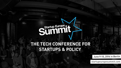 Participation in Startup Europe Summit