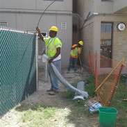 UHS Chain Link Fence & Steel Access Gate