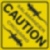 salamander crossng sign