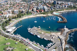 Wollongong Harbour Aerial