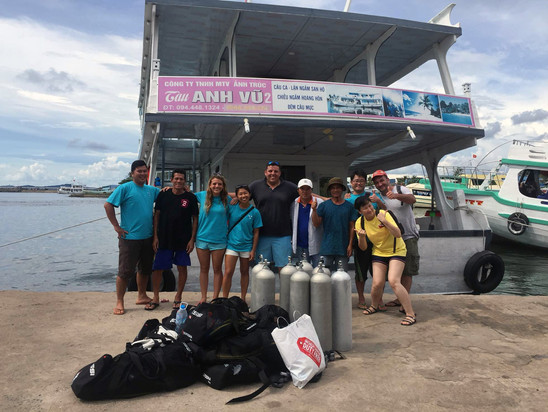 An excellent dive day