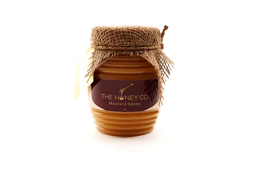 THE HONEY CO. Mustard Honey 100% Raw 1 kg