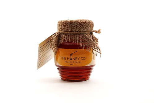 THE HONEY CO. Multi Flora Honey 100% Raw 500gm