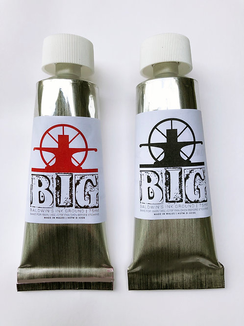 BIG Etching Ground 75ml (Black and Red)