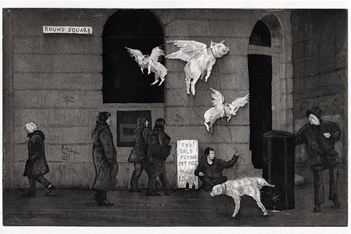 Beggars Belief - Etching with Aquatint