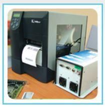 RFID מדפסת מדסקות וצריבת מידע