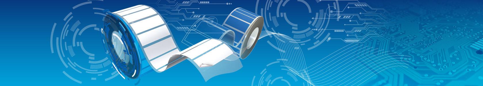 ייצור חיתוך והדפסת כל סוגי המדבקות בגלילים