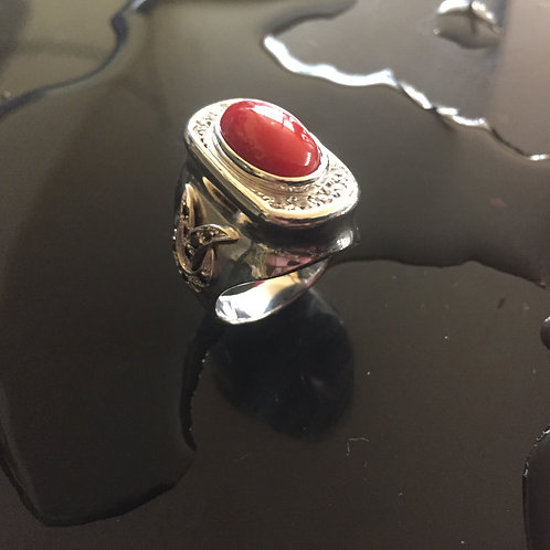 130-Coral Ring