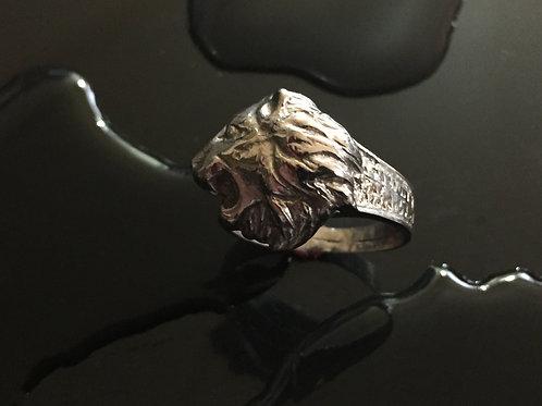 112- Lion Ring