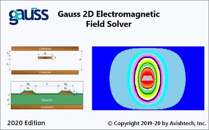 Gauss 2D Field Solver