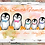 Thumbnail: Personalised Penguin Family Gift Print