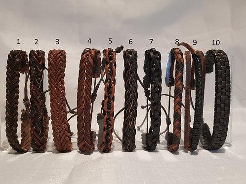 L10. L10. Mens, Womens adjustable leather wrap Wrist Wrap