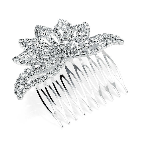HA26672 - Silver hair comb