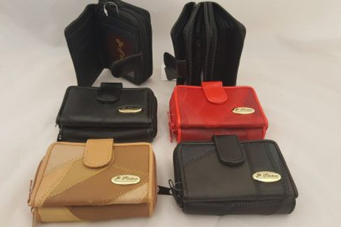 Patchwork Real leather purse