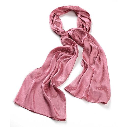 SC23883.  Dusky pink scarf.
