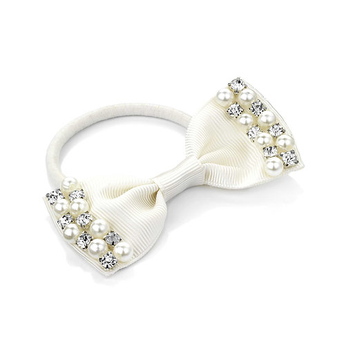 HA26048 - Cream hair bow