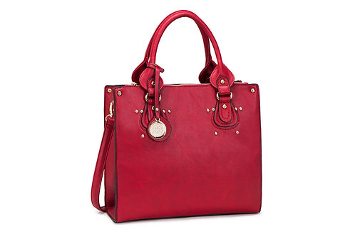 6663 Medium soft leatherette bag
