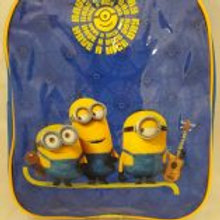 MINIONS.  Blue Childrens Backpack