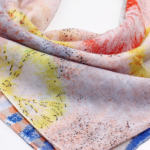 Stylish Dotted Print Women's Scarf